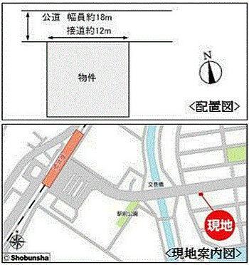 ビル(建物全部)-佐倉市山王1丁目 配置図・現地案内図