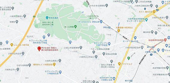 マンション(建物一部)-川崎市宮前区神木本町3丁目 地図