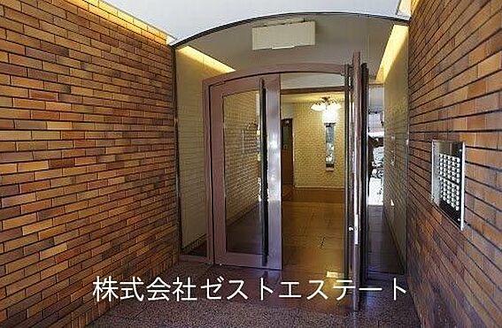 区分マンション-大阪市中央区平野町4丁目 落ち着いた印象のアプローチ
