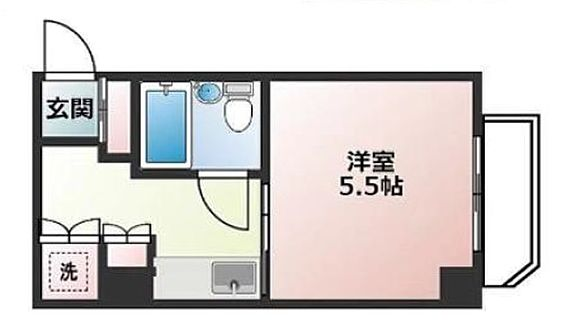 マンション(建物一部)-大阪市浪速区下寺2丁目 水まわりと居室をわけた暮らしやすい間取り
