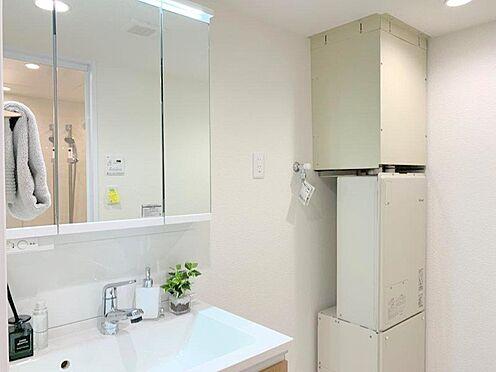 中古マンション-多摩市貝取2丁目 洗面台や防水パンも新規交換済!