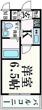 マンション(建物一部)-神戸市中央区日暮通3丁目 単身者向けのシンプルな間取り
