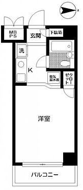 マンション(建物一部)-横浜市旭区鶴ケ峰2丁目 間取り