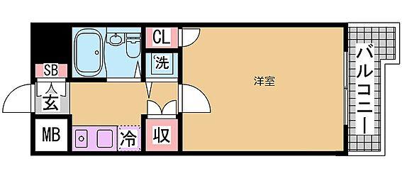 マンション(建物一部)-神戸市長田区大橋町4丁目 単身向けの1K