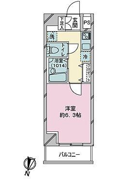 区分マンション-品川区荏原4丁目 間取り