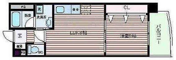 マンション(建物一部)-大阪市北区天神橋7丁目 広々とした1LDK