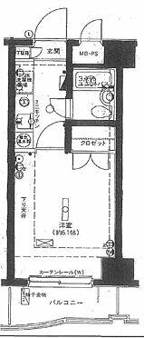 マンション(建物一部)-杉並区上高井戸3丁目 間取り