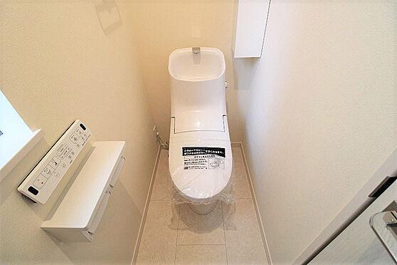 新築一戸建て-杉並区上井草2丁目 トイレ