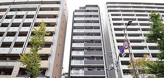マンション(建物一部)-大阪市淀川区十八条1丁目 スッキリとした外観