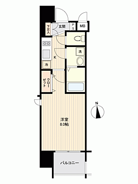 マンション(建物一部)-大阪市都島区都島北通2丁目 間取り