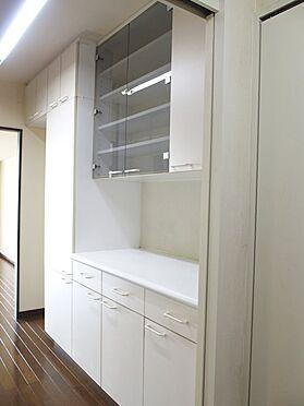 中古マンション-八王子市別所2丁目 キッチン食器棚