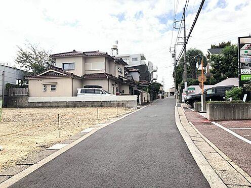 土地-名古屋市緑区大将ケ根2丁目 前面道路