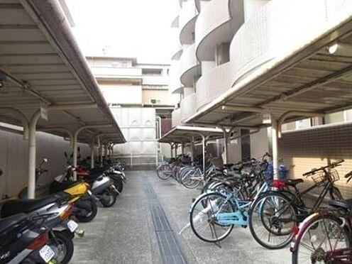 マンション(建物一部)-京都市下京区梅湊町 屋根付き駐輪場