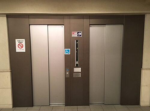 区分マンション-大阪市城東区中央3丁目 エレベーターは複数台完備