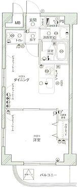 マンション(建物一部)-横浜市西区伊勢町3丁目 間取り