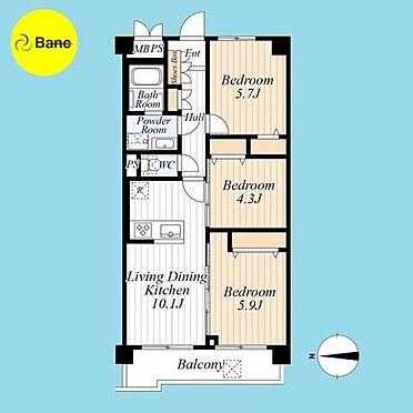 中古マンション-北区王子1丁目 資料請求、ご内見ご希望の際はご連絡下さい。