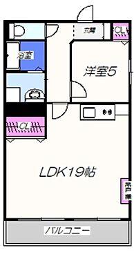 マンション(建物一部)-大阪市中央区谷町2丁目 間取り
