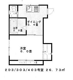 マンション(建物全部)-葛飾区立石1丁目 間取り