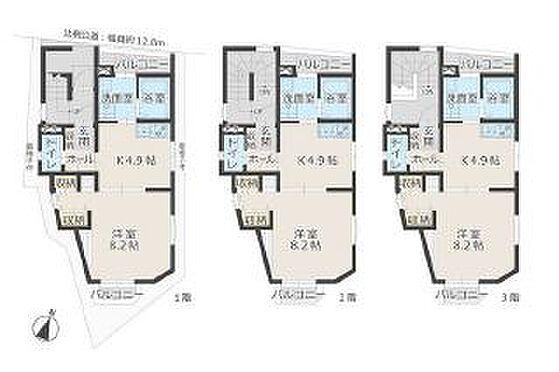 アパート-名古屋市守山区町南 間取図  ※図面と現況が異なる場合は現況優先と致します。
