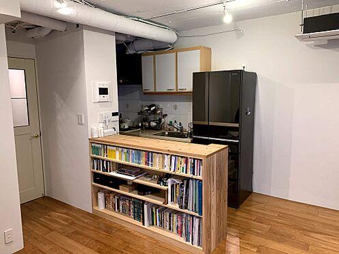 中古マンション-港区元麻布1丁目 キッチン3.1帖 家具等は付属いたしません