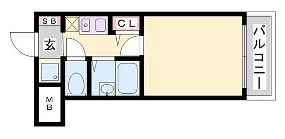 マンション(建物一部)-神戸市東灘区深江北町1丁目 単身者人気の高いセパレートタイプ
