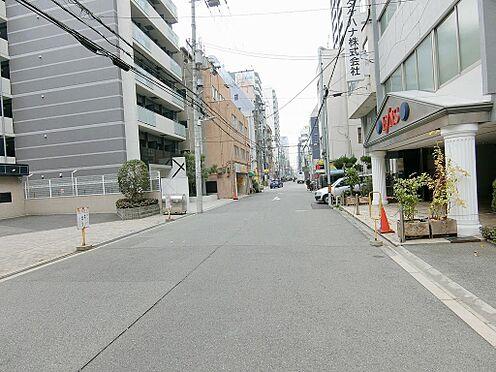 区分マンション-大阪市福島区海老江1丁目 前面道路