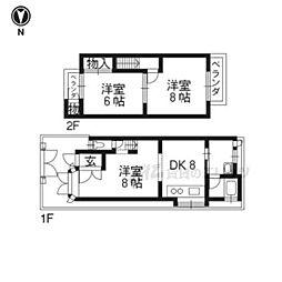 京都地下鉄東西線 東野駅 徒歩15分
