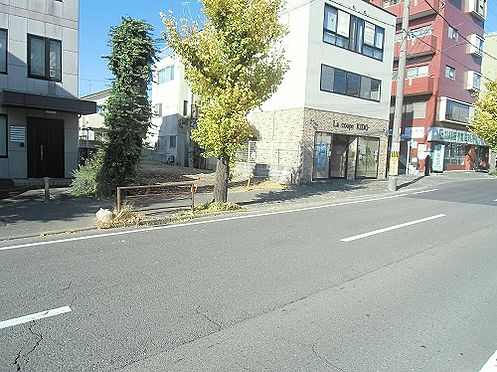 土地-京都市左京区浄土寺下馬場町 前面21M道路