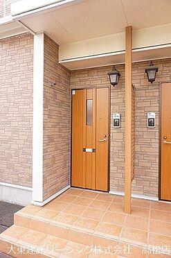 アパート-高松市田村町 玄関