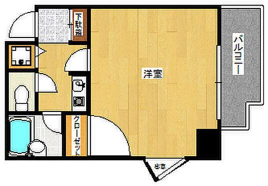 中古マンション-福岡市博多区新和町2丁目 間取り