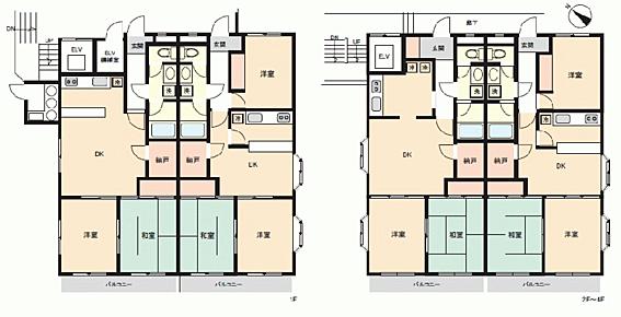 マンション(建物全部)-座間市相模が丘3丁目 間取り