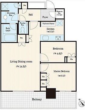 中古マンション-横浜市中区北仲通5丁目 ☆新築未入居のお部屋です☆2LDK+SIC☆二重床構造です☆