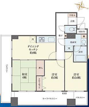 マンション(建物一部)-千葉市中央区長洲1丁目 間取り
