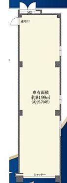 店舗事務所(建物一部)-小金井市桜町1丁目 間取り