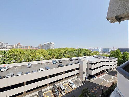中古マンション-品川区八潮5丁目 廊下からの眺望です。