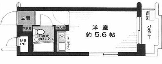 中古マンション-横浜市神奈川区新子安2丁目 間取り