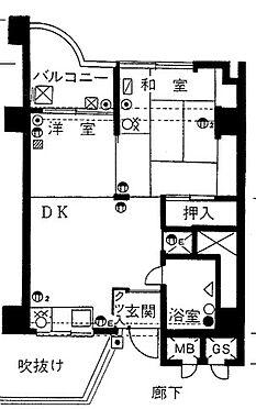 マンション(建物一部)-徳島市昭和町5丁目 間取り