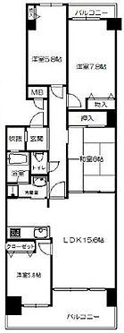 マンション(建物一部)-神戸市西区月が丘4丁目 南西向きバルコニー
