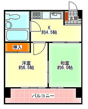 マンション(建物一部)-大阪市淀川区西中島5丁目 エアコン付・南向き