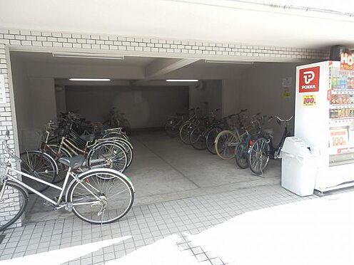 マンション(建物一部)-京都市上京区姥ケ北町 駐輪場もあり、駅や大学への移動が楽ちんです。