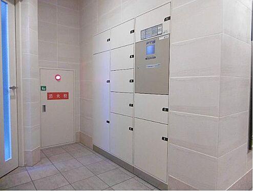 マンション(建物一部)-大阪市淀川区新北野3丁目 宅配ボックスがあって、お出かけの時も安心。