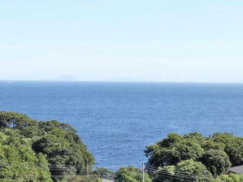 中古マンション-伊東市八幡野 ≪眺望≫ 相模湾を正面に望む。