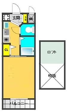 マンション(建物一部)-大阪市港区市岡元町1丁目 ロフト付き1K