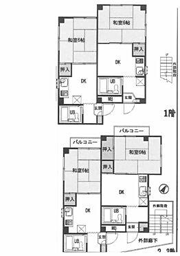 マンション(建物全部)-横浜市西区東久保町 間取り