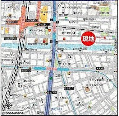 ビル(建物全部)-千代田区神田佐久間町4丁目 地図