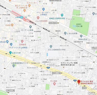 マンション(建物一部)-板橋区東新町1丁目 地図