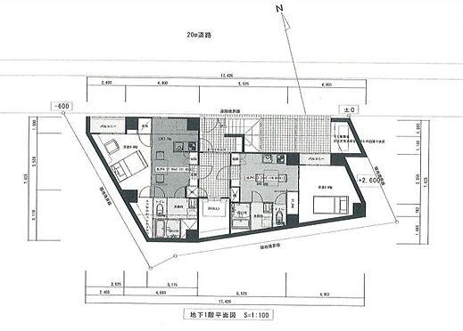 一棟マンション-新宿区戸山3丁目 B1