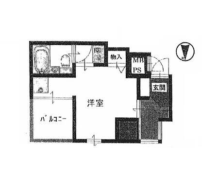 区分マンション-大阪市天王寺区上汐3丁目 間取り