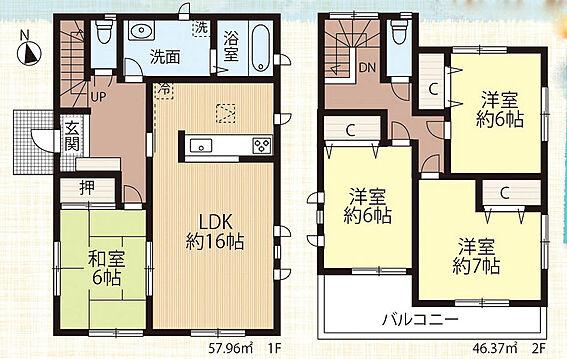 店舗・事務所・その他-八王子市川口町 間取り図