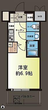 マンション(建物一部)-大阪市浪速区元町2丁目 間取り